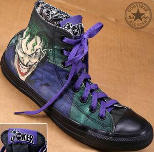 Converse The Joker DC Comics All Star High Tops Shoes Size Men 8 Women 10