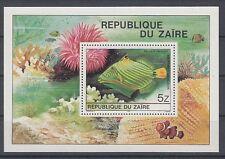 Fish Marine Life Congo Zaire Block 38 (MNH)
