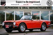 New listing  1976 Triumph Tr-6 Roadster