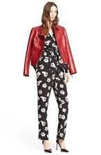 NEW Nordstrom Signature and Caroline Issa Floral Print Silk Twill Blazer suit- 2