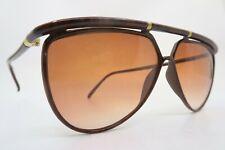 Vintage 80s Yves Saint Laurent sunglasses brown Mod 8633 Y 15 made in France