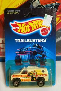 Hot Wheels Baja Breaker Trailbusters 1989 1517 FORD 4x4 van MOC