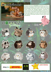NOXXIEZ - Cuddly Toy With Muff Function - Hand Warmer - Select Your Favorite New