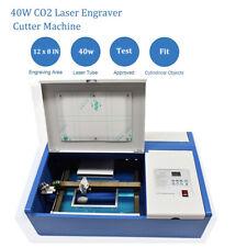 DIY Laser Engraving Engraver 40W CO2 Cutter machine 300mmX500mm
