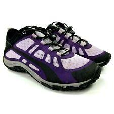 Cabelas Womens XPG Vibram Shoes Sz 8 M Hiking Sports Water Shoes Purple Black