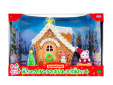 Sylvanian Families Calico Critters Santa Gingerbread House Christmas Set