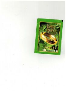 Lord Of the Rings - Merlin Stickers - pack unopened