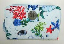 Vera Bradley RFID Turnlock Wallet ANCHORS AWEIGH Turn Lock