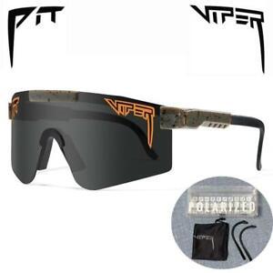 PIT VIPER Cycling Glasses UV400 Outdoor Polarized Sports Eyewear