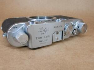 Leitz Leica IIf Black Dial Body 1951