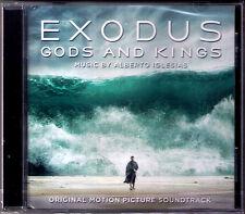 EXODUS: GODS AND KINGS Alberto Iglesias OST Soundtrack CD Götter und Könige NEU
