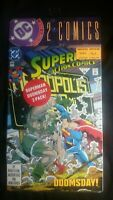 Superman 684 and 21; Factory Sealed-Still In Plastic 1992 DC Collector Comics