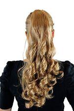 Natte / Queue de Cheval Blond Mix Épingle à Cheveux-Papillon Boucles Bouclée