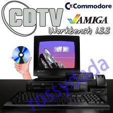 CDTV Commodore Workbench 1.3.3 CD-ROM Amiga computer pc Retro Software system