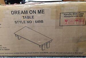 Dream On Me Emma 3‑in‑1 Table Espresso