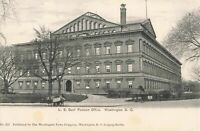 Postcard US Government Pension Office Washington DC