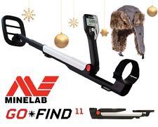 Minelab GO-FIND 11 mit Wintermütze. Metalldetektor Metallsonde Metallsuchgerät
