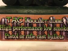 Bullet lube-Tac1- 6 Hollow sticks (Low smoke-Low Toxic)