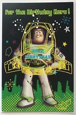 Disney Toy Story Buzz Lightyear For The Birthday Hero! Boy New Card