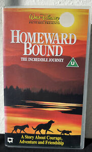 Disney's Homeward Bound VHS/Video - New