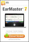 Earmaster 7 - Win Mac Digital Software - Master Ear Training - Music Theory NEW