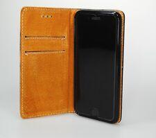 Echt Leder Tasche für Apple iPhone 7 / 8 - Etui Echtleder Real Leather Bookstyle