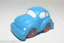 RUBBER VW VOLKSWAGEN BEETLE KAFER BLUE WITH SOUND EXCELLENT FRICTION