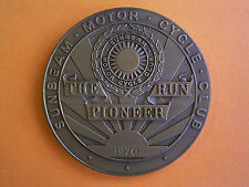 Sunbeam Motor Cycle Club - The Pioneer Run - Participants Medal 1970