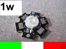 10x 1w 1 watt LED LUXEON WHITE HIGH POWER 90 LUMEN COOL WHITE 5500k