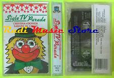 MC SIGLE TV PARADE Cristina denver sabato circo 29 DUCK SIGILLATA cd lp dvd vhs