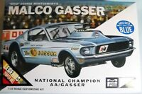 MPC 804 Ohio George Malco Gasser 1967 Mustang model kit 1/25 blue color body