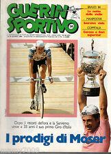 GUERIN SPORTIVO=N.24 1984=COPPA ITALIA=BRAVO 84=GIRO D'ITALIA