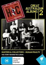 Great Australian Albums 2: Hunters and Collectors - Human Frailty (DVD, 2008)