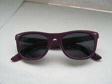 New 80's Unisex Style Sunglasses Purple