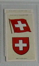 #43 - switzerland flag card