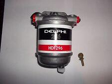 DIESEL FUEL WATER TRAP SEPARATOR CAV296 METAL BASE C/W PLASTIC OR METAL DRAIN
