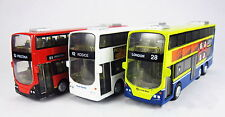 NEW 16CM London Double Deck Bus Sound Light Model Toys X1PC Birthday Xmas Gift