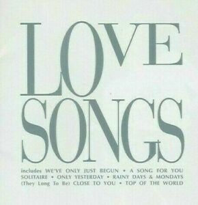 Carpenters – Love Songs CD A&M Records 1998 NEW/SEALED
