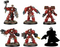 Warhammer 40000 Space Marine Heroes Series 2 Limited 6 Set From Japan NEW