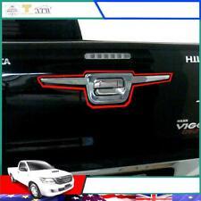 Fit 11-14 Toyota Hilux Vigo Champ SR5 MK Chrome Tailgate Fender Liner Cover Trim