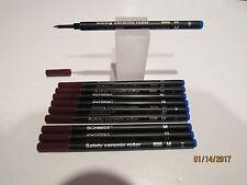 10 Schmidt 888 Rollerball MEDIUM BLUE Refills-Fit most Rollerball Pens+FREE PEN