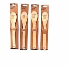 Cooking Spoon Assorted 100% Cherry Wood Mixing Baking Utensil Turner Tools Ladle