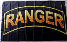 ARMY RANGER US UNITED STATES MILITARY POLYESTER FLAG  3 X 5 FEET