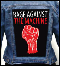 RAGE AGAINST THE MACHINE - Fist   --- Giant Backpatch Back Patch