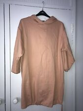 Asos Curve Hooded Sweat Dress Size 16-18 Bnwt
