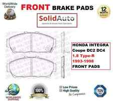 FOR HONDA INTEGRA Coupe DC2 DC4 1.8 Type-R 1993-1998 FRONT BRAKE PADS OE QUALITY