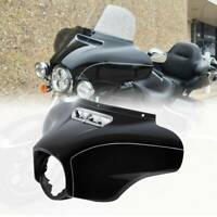 Vivid Black Outer Fairing Fit For Harley Electra Glide Street Glide Trike 14-20