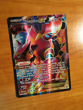 NM FULL ART Pokemon VOLCANION EX Card STEAM SIEGE Set 107/114 XY X Y Ultra Rare