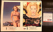 Rare Playboy Model Agency Playmate Barbara Moore Autographed Card w/COA PSA/DNA!