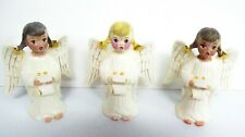 Trio Vintage Christmas Angels - Holland Mold